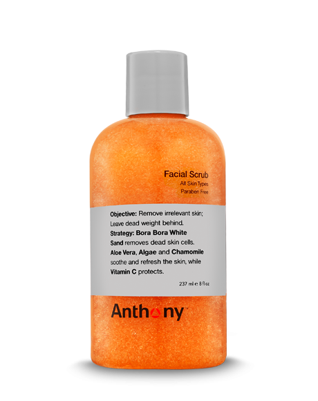 anthony logistics facial-scrub
