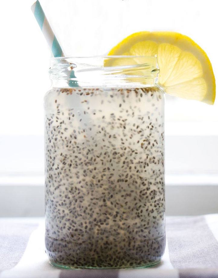 Weekend Recipe: Chia Seed Water