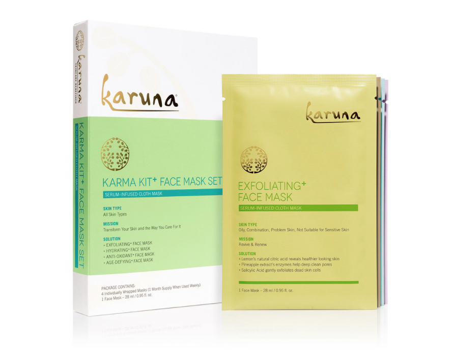Karuna Karma Kit+ Face Mask Set