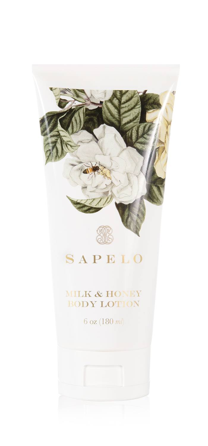 Sapelo milk and honey body lotion