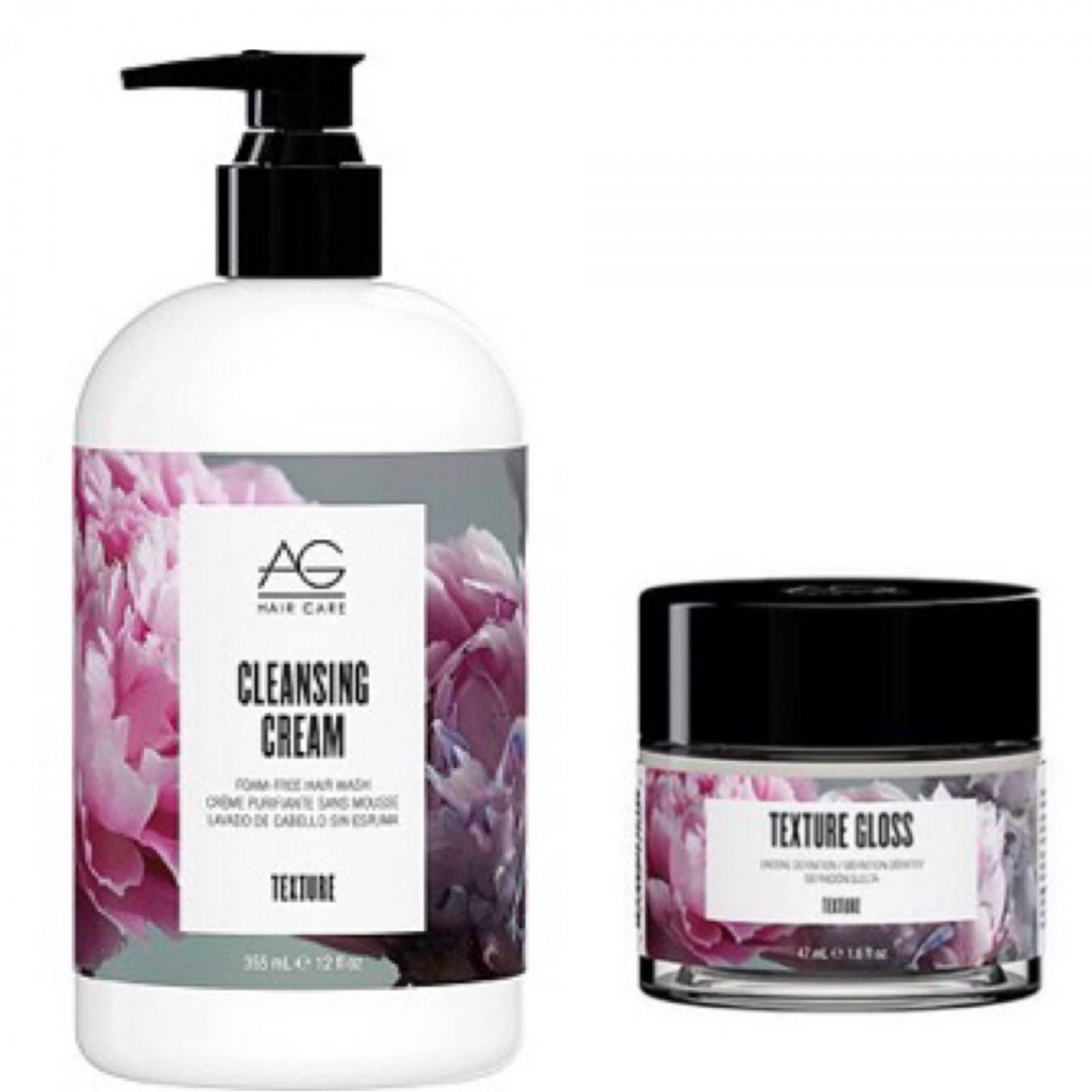 AG Hair Cleansing Cream and Texture Gloss