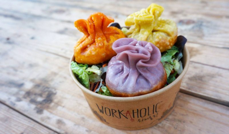 workaholic korean dumpling