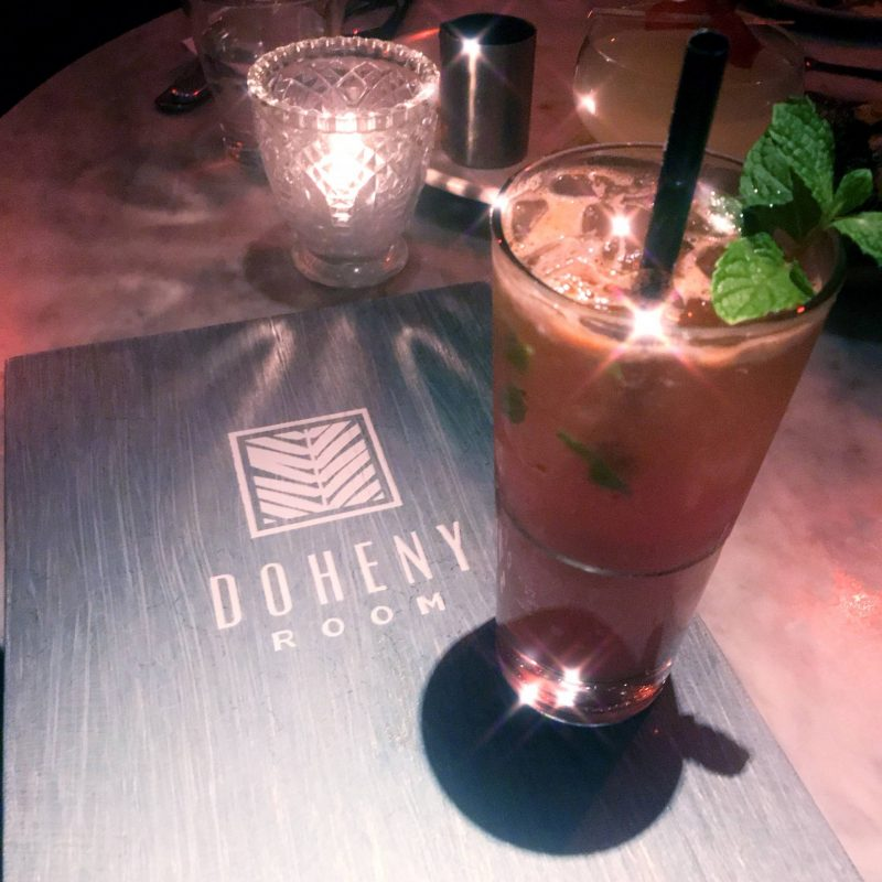 doheny room cocktails