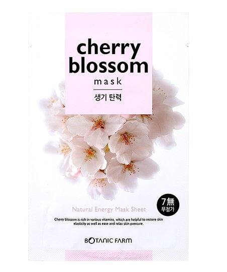 botanic farm cherry blossom sheet mask