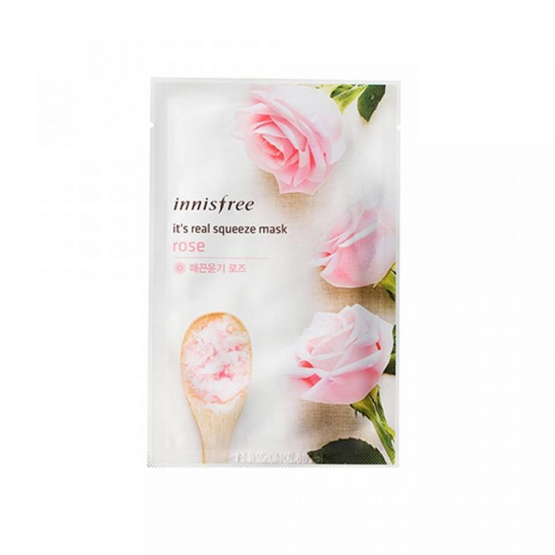 innisfree rose mask
