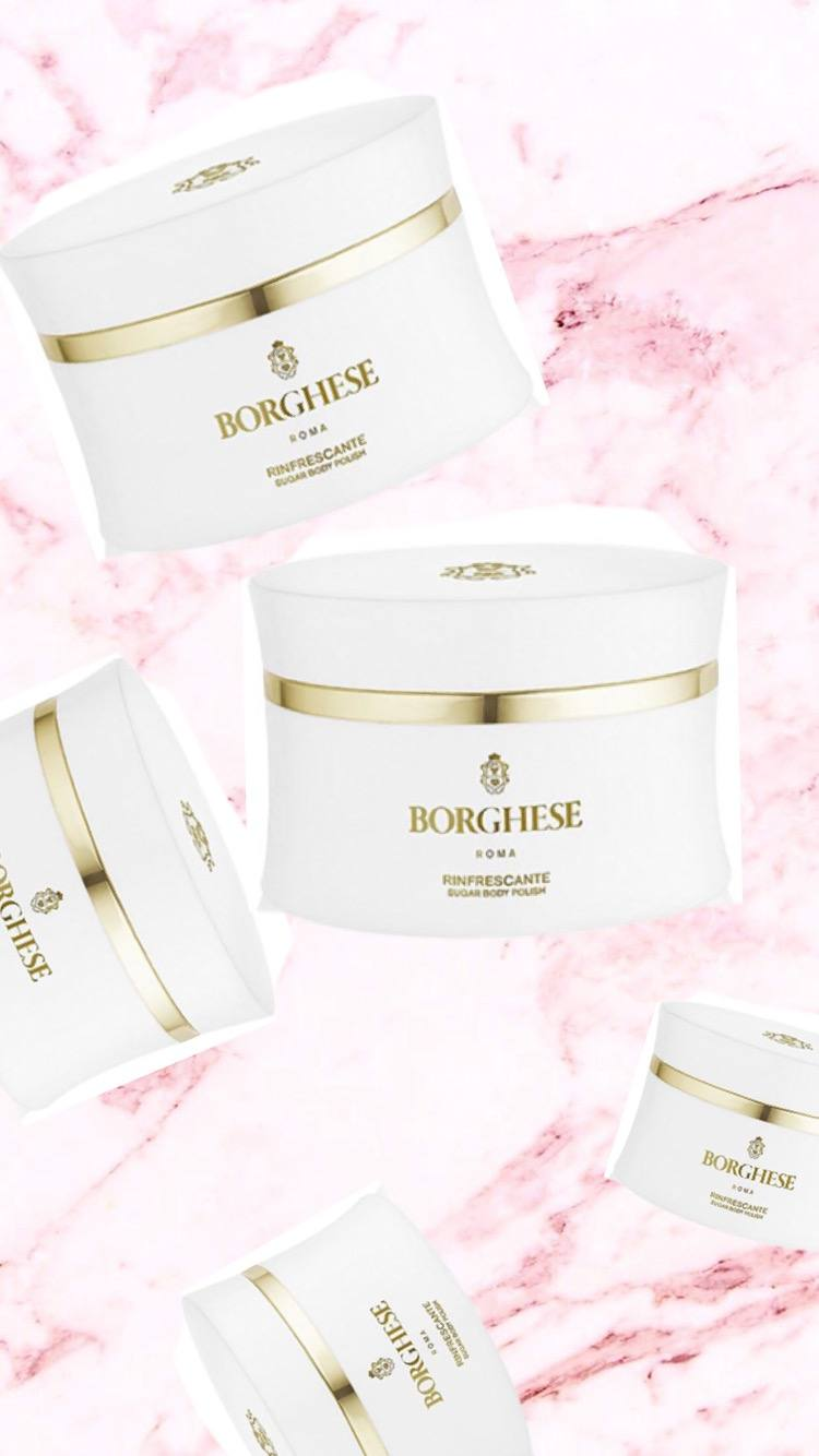 borghese sugar body polish
