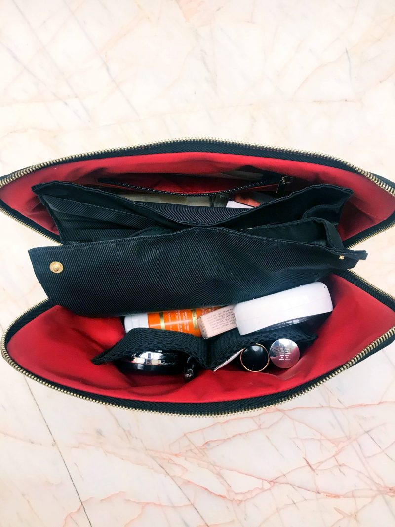 makeup bag for makeup brushes
