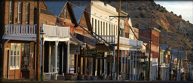 Welcome To Virginia City Nevada