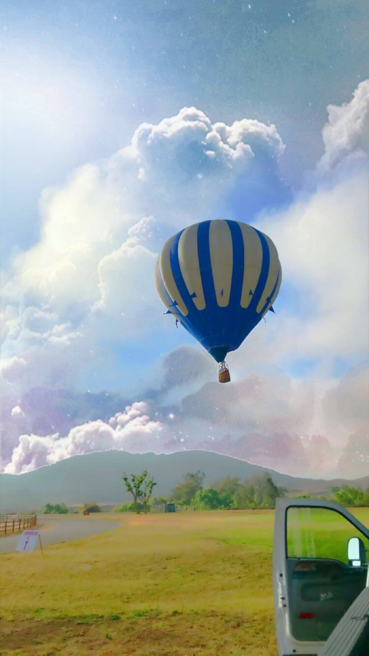 hot air balloon rides temecula