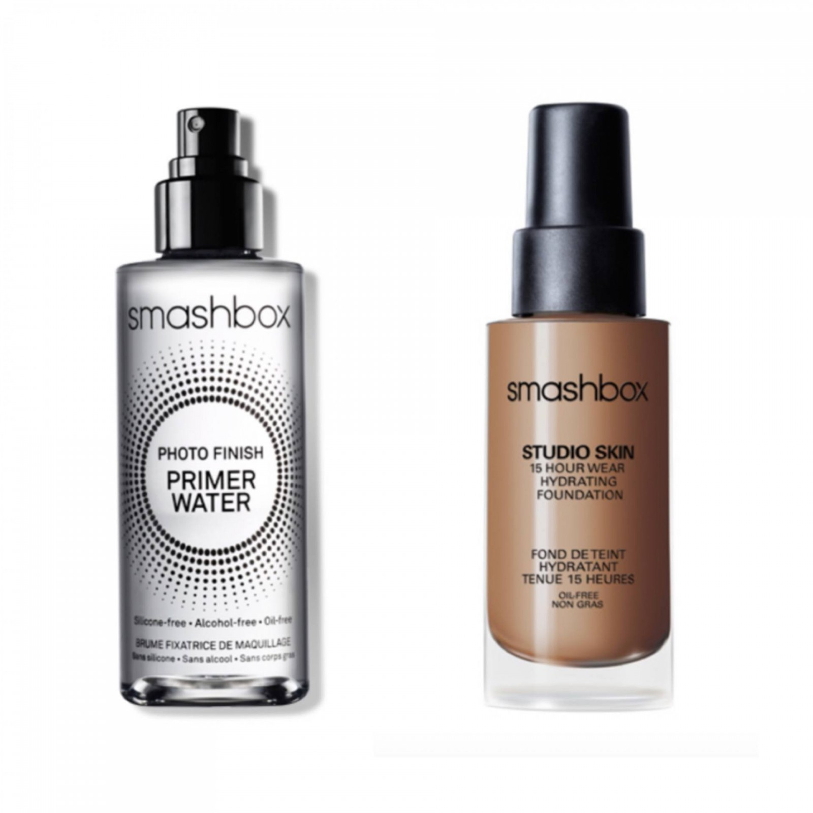 Smashbox Photo Finish Primer Water and Studio Skin 15 Hour Wear Foundation