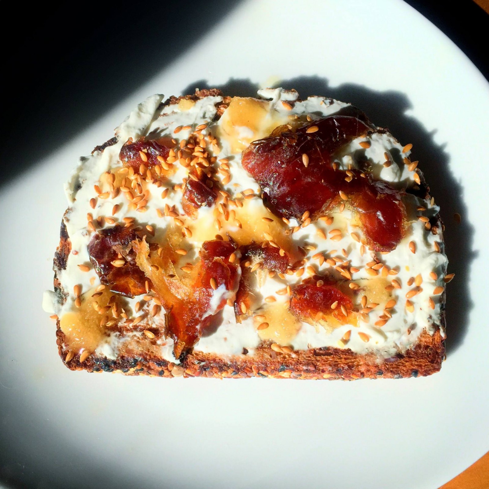 Weekend Recipe: Lebne, Tahini Date Toast