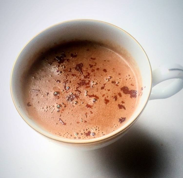 Weekend Recipe: Tahini Hot Chocolate