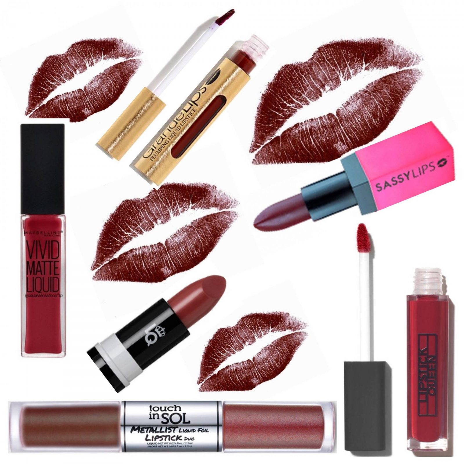 Dark Lipsticks To Try This Winter
