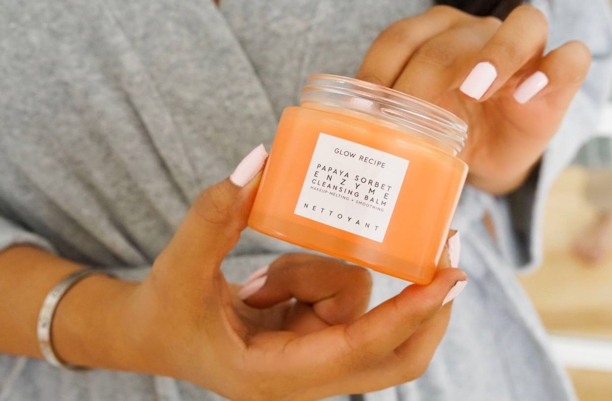 Glow Recipe Papaya Sorbet Enzyme Cleansing Balm